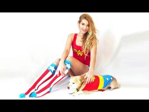 Wonder Dog Halloween Costume Change