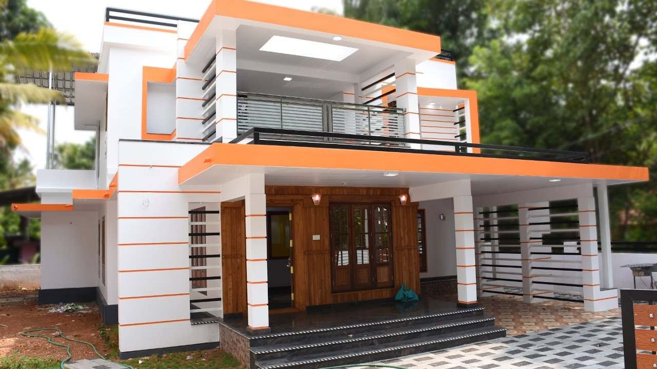 athani, 8.5 cents plot and 2600 sq ft, stylish house for sale in
