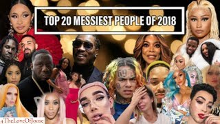 Top 20 Messiest People in 2018