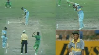 Download Young Azharuddin vs Mighty Pakistan Bowling | Azhar's Brave Match Winning 93 in a Tough Run Chase Mp3 and Videos