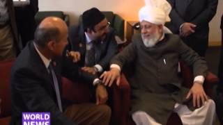 Los Angeles: World Muslim Leader arrived to advocate Peace, Unity and Universal Human Rights