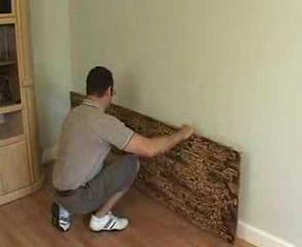 FauxPanels Video On WE YouTube - Fake rock flooring