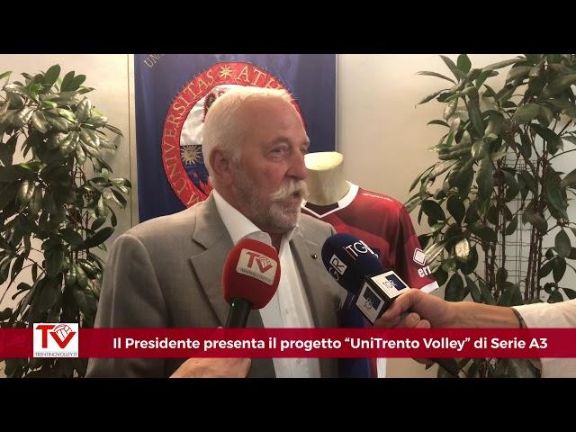 Il Presidente Mosna presenta il progetto