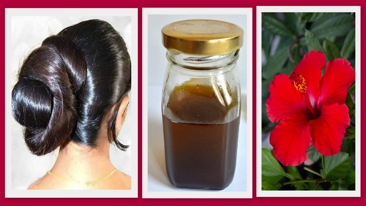Hibiscus Homemade Hair Oil For Hair Regrowthremove Dandruffthick