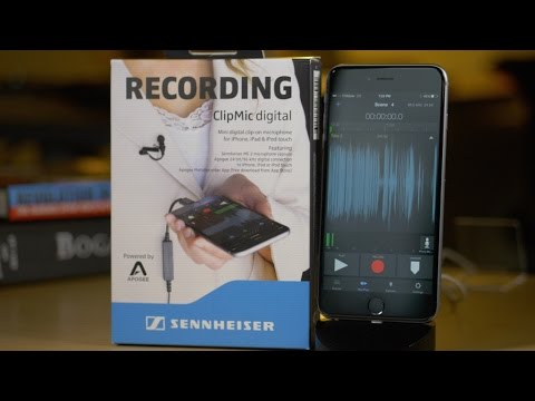 Sennheiser Recordings on your iPhone, iPad or iPod || Shopping on amazon