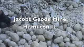 Hunting Keokuk Geodes at GEODE FEST 2013