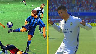 THE EVOLUTION OF FIFA 94 to 17