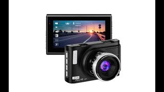 CHORTAU Dash Cam Car Video Camera 1080P