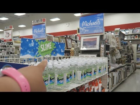 Buying Birthday Slime Supplies| Target and Michael's Shopping| Vlog EP 112