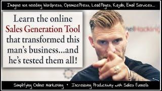 Making Sales Funnels Work | Funnel Hacking | ClickFunnels v. Leadpages v. OptimizePress v. Wordpress