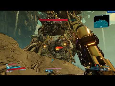 Borderlands 3 trying to kill Graveward instantly(fail)