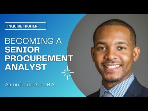 Aaron Robertson: So What Is Procurement Anyway?   BSSP
