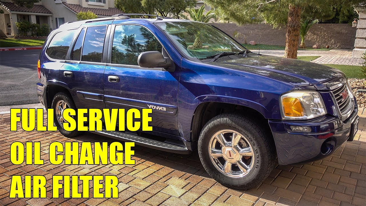2004 Gmc Envoy Service Youtube