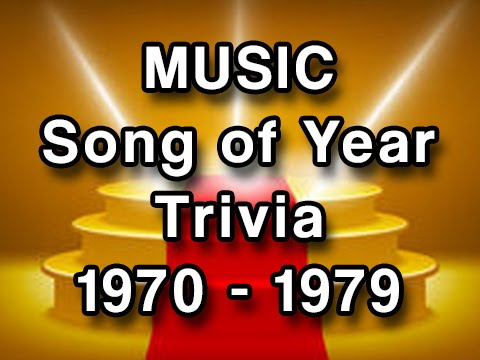 Music Trivia  Grammy Winners 19701979