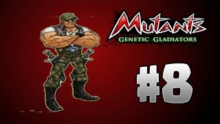 Mutants Genetic Gladiators #8 Buck Maurice Plata