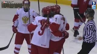 ЖМЧМ-2019. РОССИЯ W18 - ШВЕЙЦАРИЯ W18 - 2:1(Б). Обзор матча