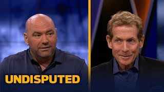 Dana White: Conor McGregor's 'mental warfare' begins tonight   UNDISPUTED