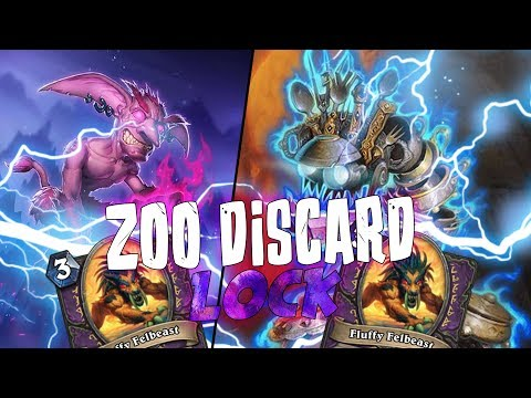 EASY RANK 5: DISCARD ZOO LOCK!! [HEARTHSTONE ITA]