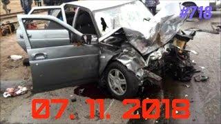 ☭★Подборка Аварий и ДТП/Russia Car Crash Compilation/#718/November 2018/#дтп#авария