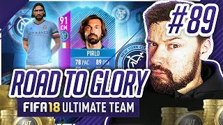 91 RATED PIRLO! - #FIFA18 Road to Glory! #89 Ultimate Team