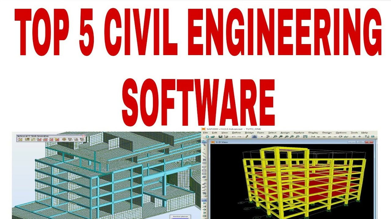 Top Civil Engineering Software Youtube