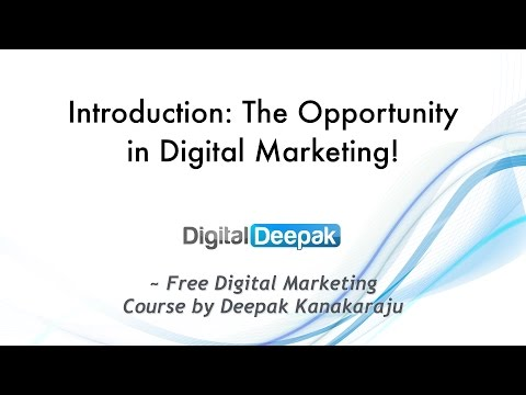 The Opportunity in Digital Marketing in India