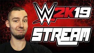 WWE 2K19 | TWORZYMY POSTAĆ - Na żywo