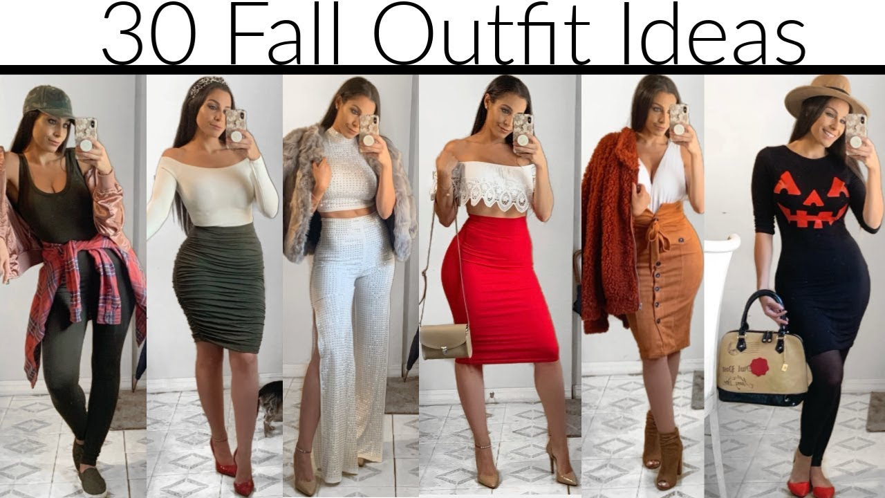 [VIDEO] - 30 Fall Outfit Ideas | For All Occasions | [2019 LookBook] 2