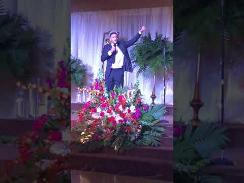Joshua performs at The Imani School 30th Anniversary Gala