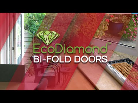 EcoDiamond Bifolds Doors by Safestyle & EcoDiamond Bifolds Doors by Safestyle - YouTube