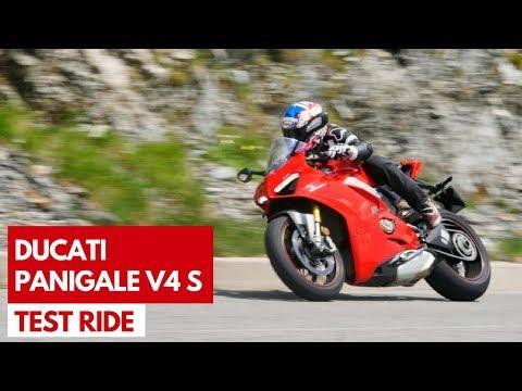 Ducati Panigale V4 S | Test ride della prima sportiva con motore V4 di Borgo Panigale