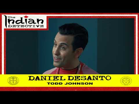 The Indian Detective  Daniel DeSanto as Todd Johnson  Trading Card  Bonus Card