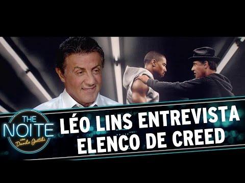 The Noite (22/12/15) - Léo Lins Entrevista O Elenco De