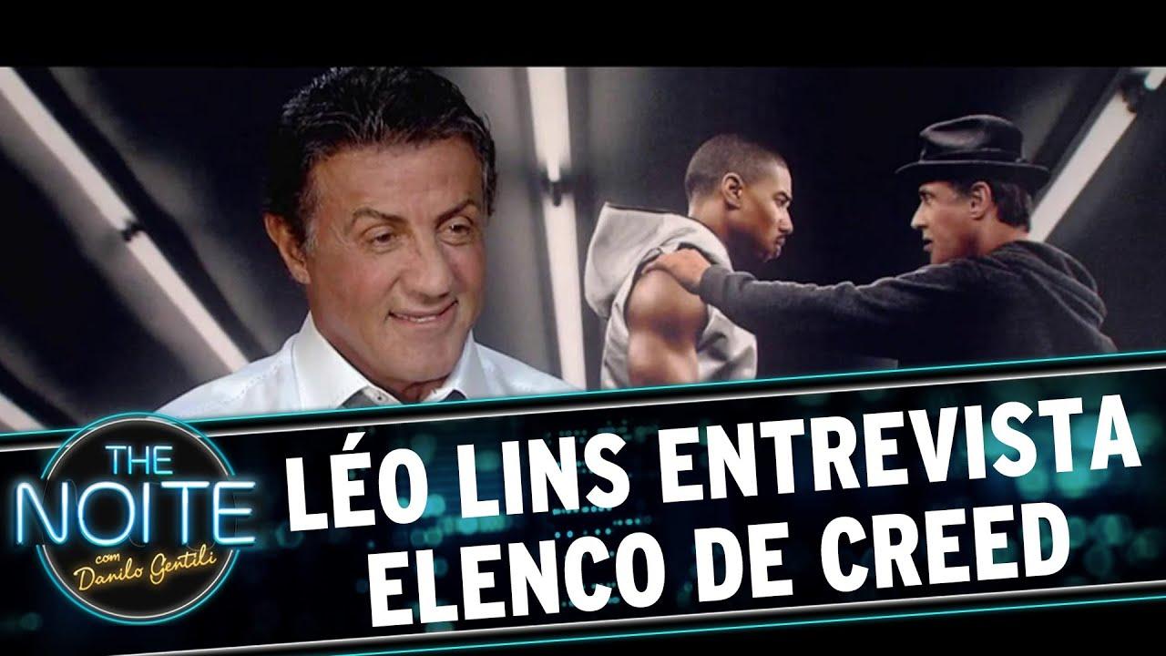 The Noite (221215)  Léo Lins Entrevista O Elenco De