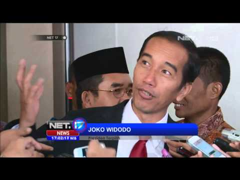 Jokowi Optimis Dengan Putusan MK Terkait Sengketa Pilpres 2014 - NET17