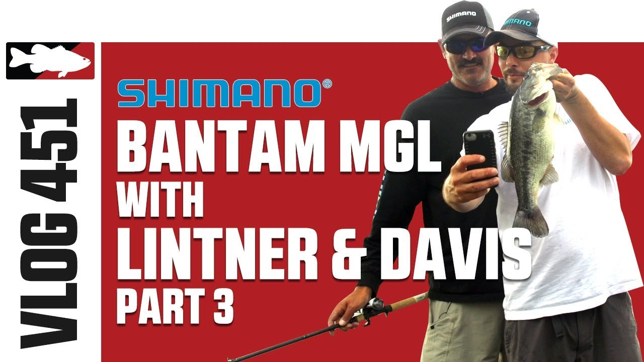 Jared Lintner and Alex Davis on Lake Santee Cooper with Shimano Pt. 3 - Tackle Warehouse VLOG #451
