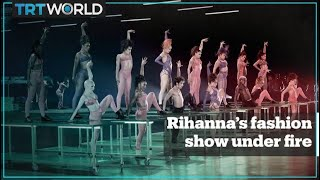 Rihanna under fire for playing song with Hadith in her fashion show