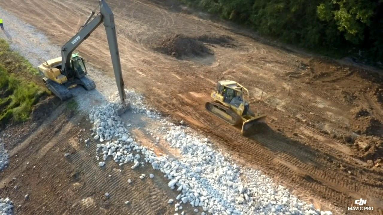 Lake Vernon Dam Repair