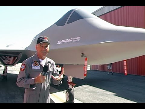 YF-23 PAV2 First Flight and Walk Around by Test Pilot Jim Sandberg