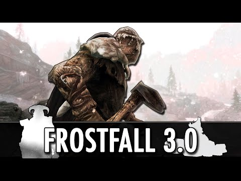 Skyrim Mod: Frostfall 3.0 - Hypothermia, Survival, Camping
