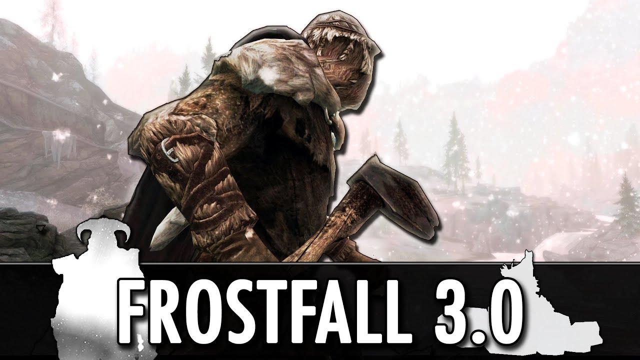 Скайрим мод Frostfall скачать