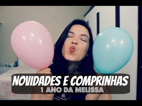 PREPARATIVOS ANIVERSÁRIO DE 1 ANO -  NOVIDADE E COMPRINHAS!!! O JARDIM DA MELISSA