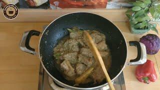 Mutton White Karahi-Mutton Karahi Recipe-Karahi gosht-Cooking with Asifa-