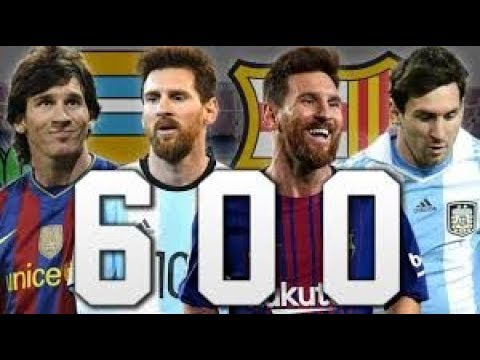 Messi: 600 goles con relatos