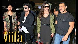 IIFA Awards 2017 New York Salman Khan, Alia Bhatt, Disha Patani, Kriti Sanon Fly From Mumbai Airport