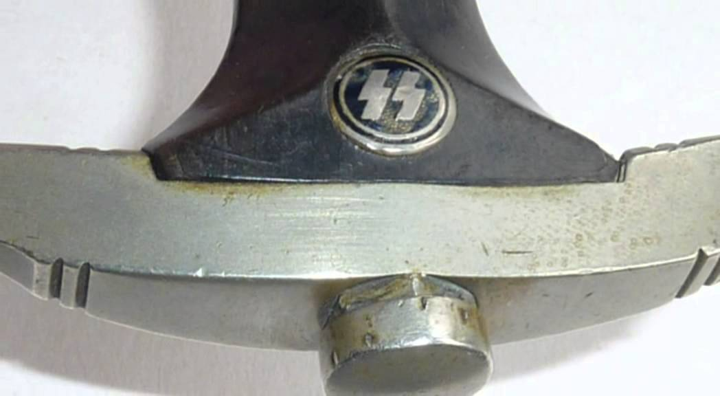 """WW2 SS DAGGER BY ROBERT KLAAS, SOLINGEN With """"kissing"""