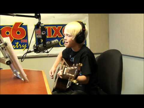 Hunter Hayes - Storm Warning Cover by 10 yr. old Carson Lueders on KIX96 country radio