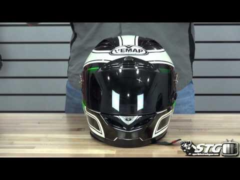 Vemar Eclipse Helmet Review from Sportbiketrackgear.com