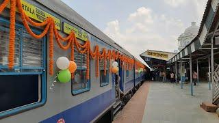 Agartala - Sabroom DEMU Train INAUGURAL RUN