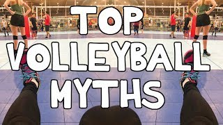 TOP VOLLEYBALL MYTHS! ⎮KOKO VOLLEY